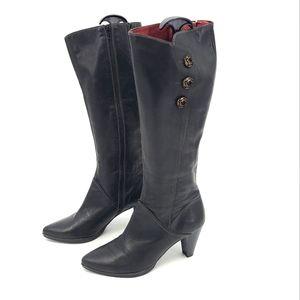 Hispanitas High Leather Upper & Liner Boots